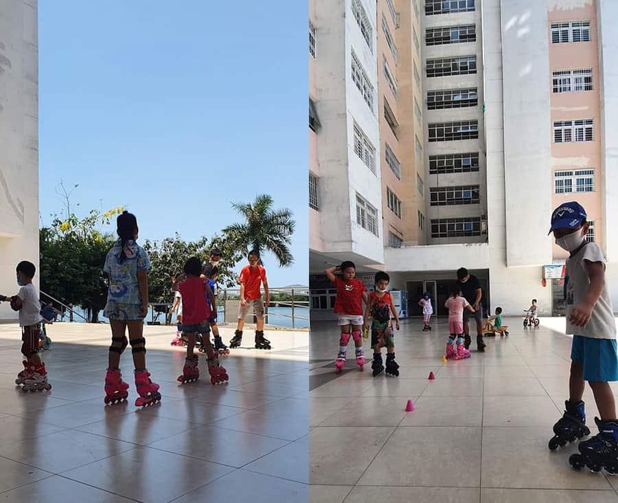 Phong trào trượt Patin tại Vũng Tàu