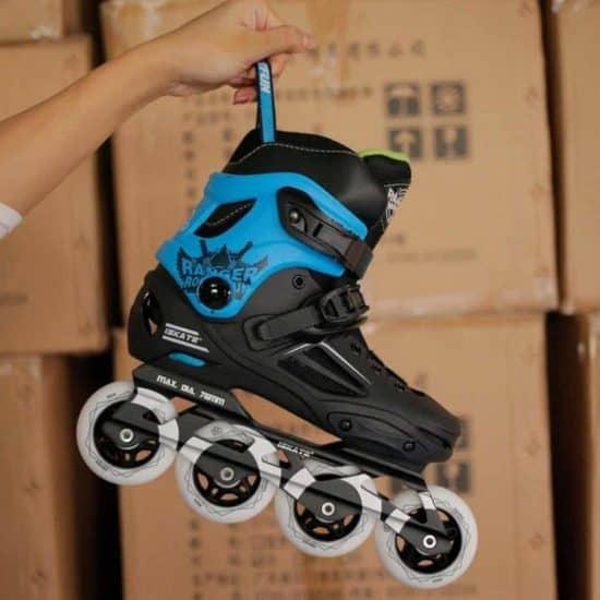 Giày patin iSkate Ranger màu xanh