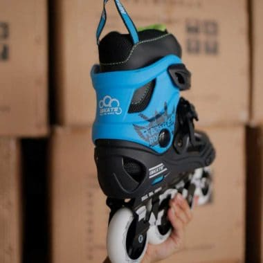 Giày patin iSkate Ranger màu xanh ảnh 2