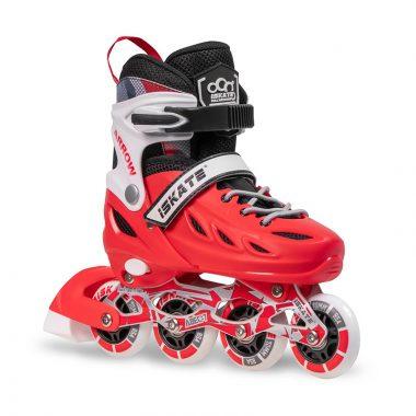 Giày Patin iSkate ARROW Đỏ