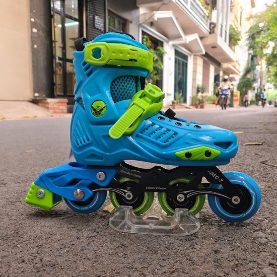 Giày Patin KF - 1 Xanh ảnh 2