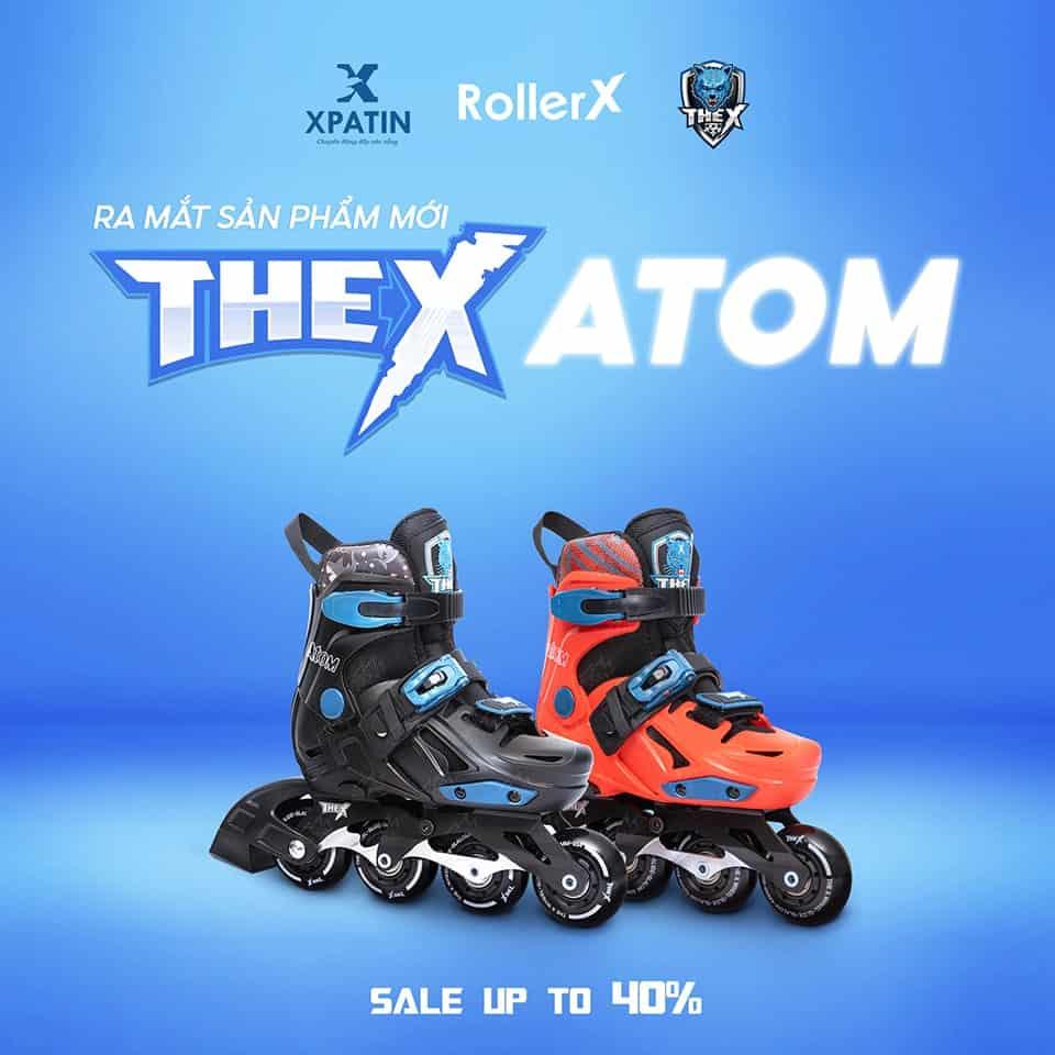Ra mắt sản phẩm mới TheX ATOM - Sale up to 40%