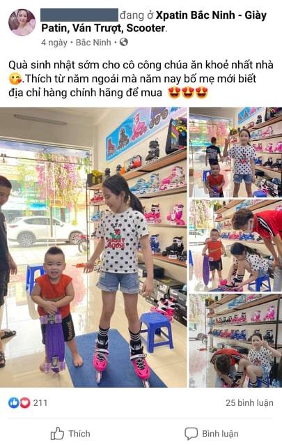 Đánh giá của khách hàng khi mua giày trượt patin cho con tại cửa hàng