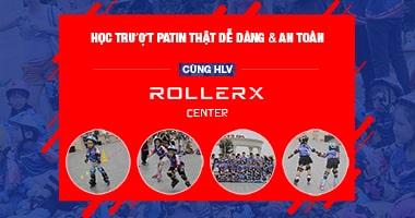 Học trượt patin thật dễ dàng & an toàn cùng HLV RollerX Center