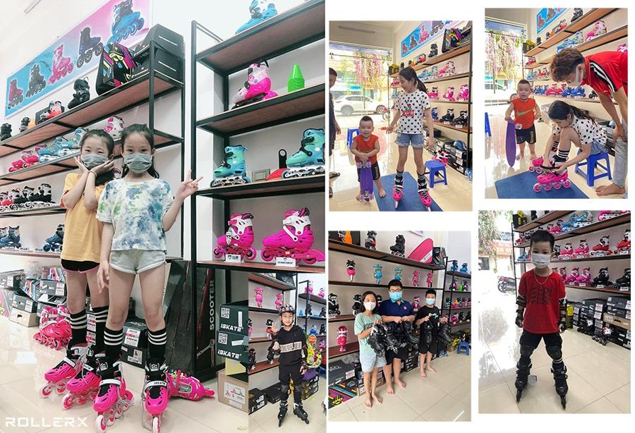 Khách hàng tại XPATIN Store chi nhánh Bắc Ninh