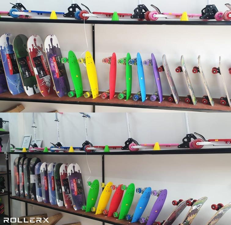 Shop có bán các mẫu Ván trượt và xe Scooter cho trẻ em