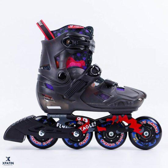 Giày trượt patin Flying Eagle S8 màu đen