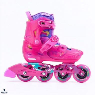 Giày trượt patin Flying Eagle S8 màu hồng