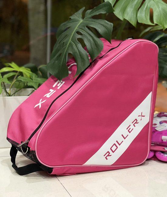 Túi đựng giày patin RollerX màu hồng
