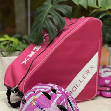 Túi đựng giày patin RollerX màu hồng ảnh 2
